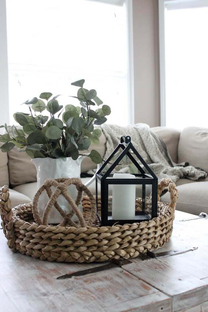 Lush Faux Greenery Home Decoration #diy #rustic #summer #decorations #decorhomeideas