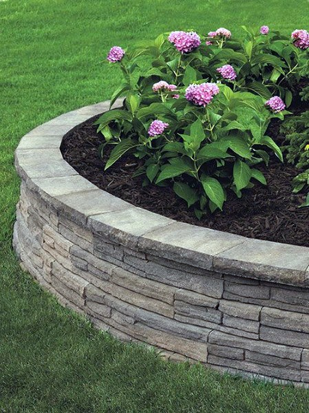 Luxury Stone Edging Ideas Landscaping Design