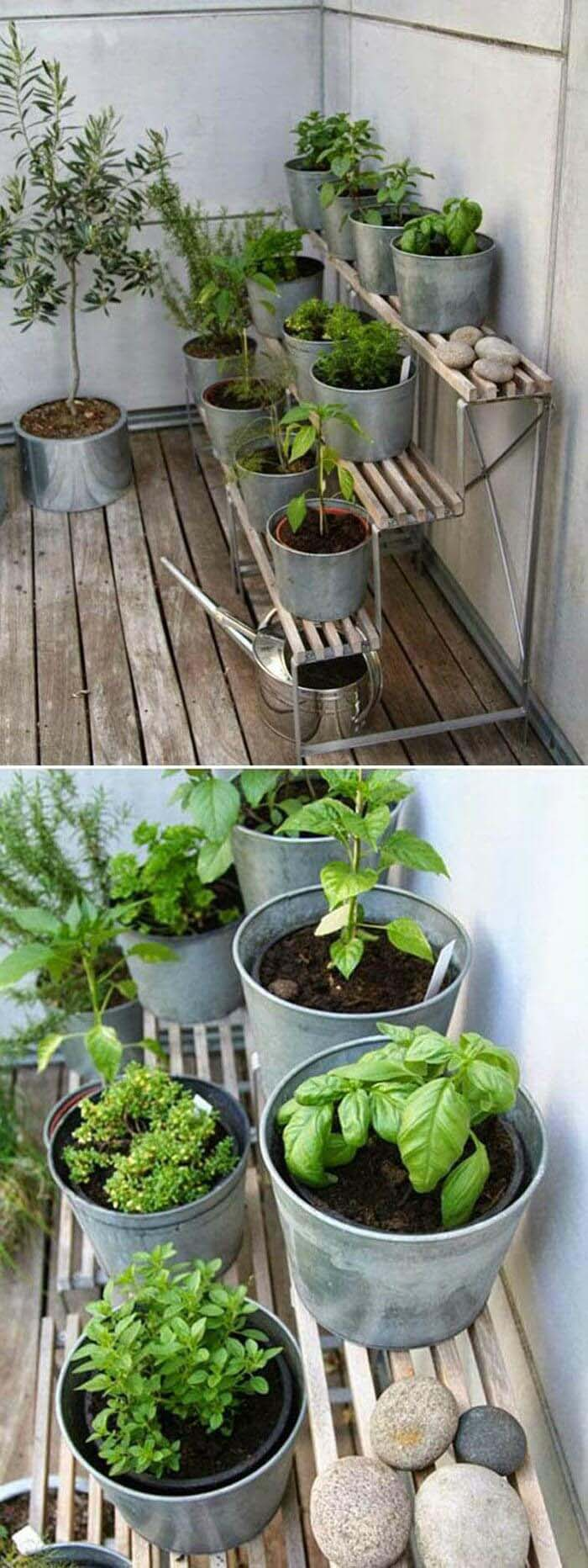 'Step-Up' Herb Garden #diy #herbgarden #herbs #garden #ideas #decorhomeideas