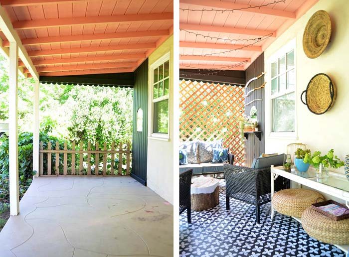 Add Character with Curated Décor #diy #porch #makeover #decorhomeideas