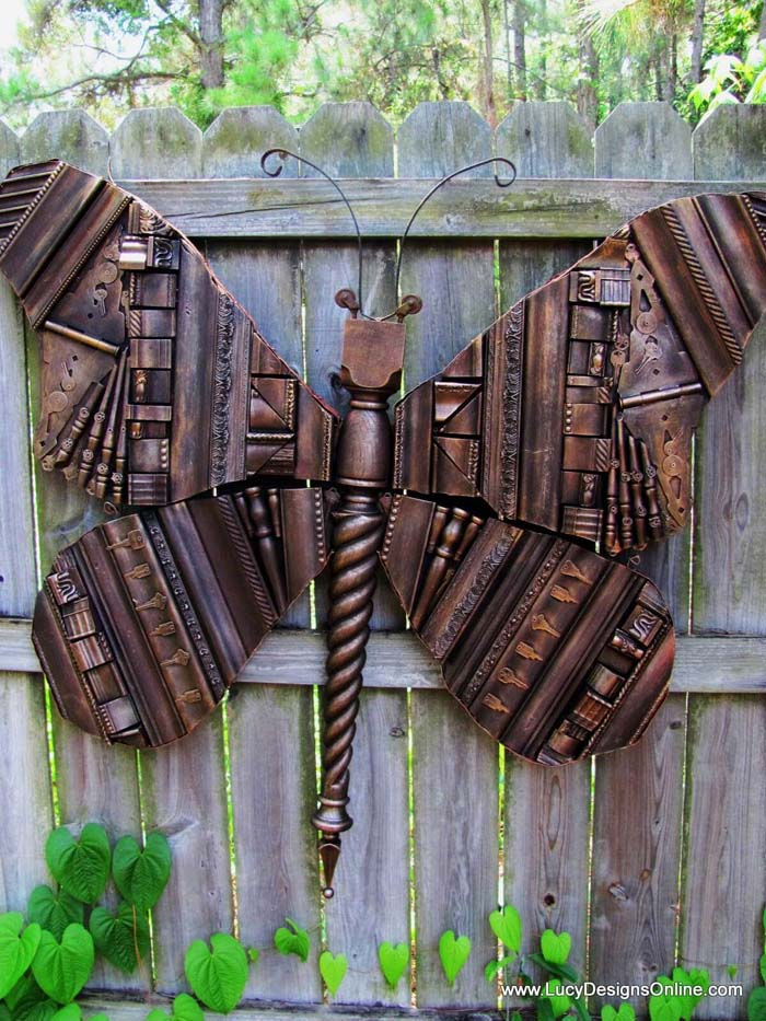Beautiful Butterfly Photo Display #diy #garden #decor #countryside #decorhomeideas