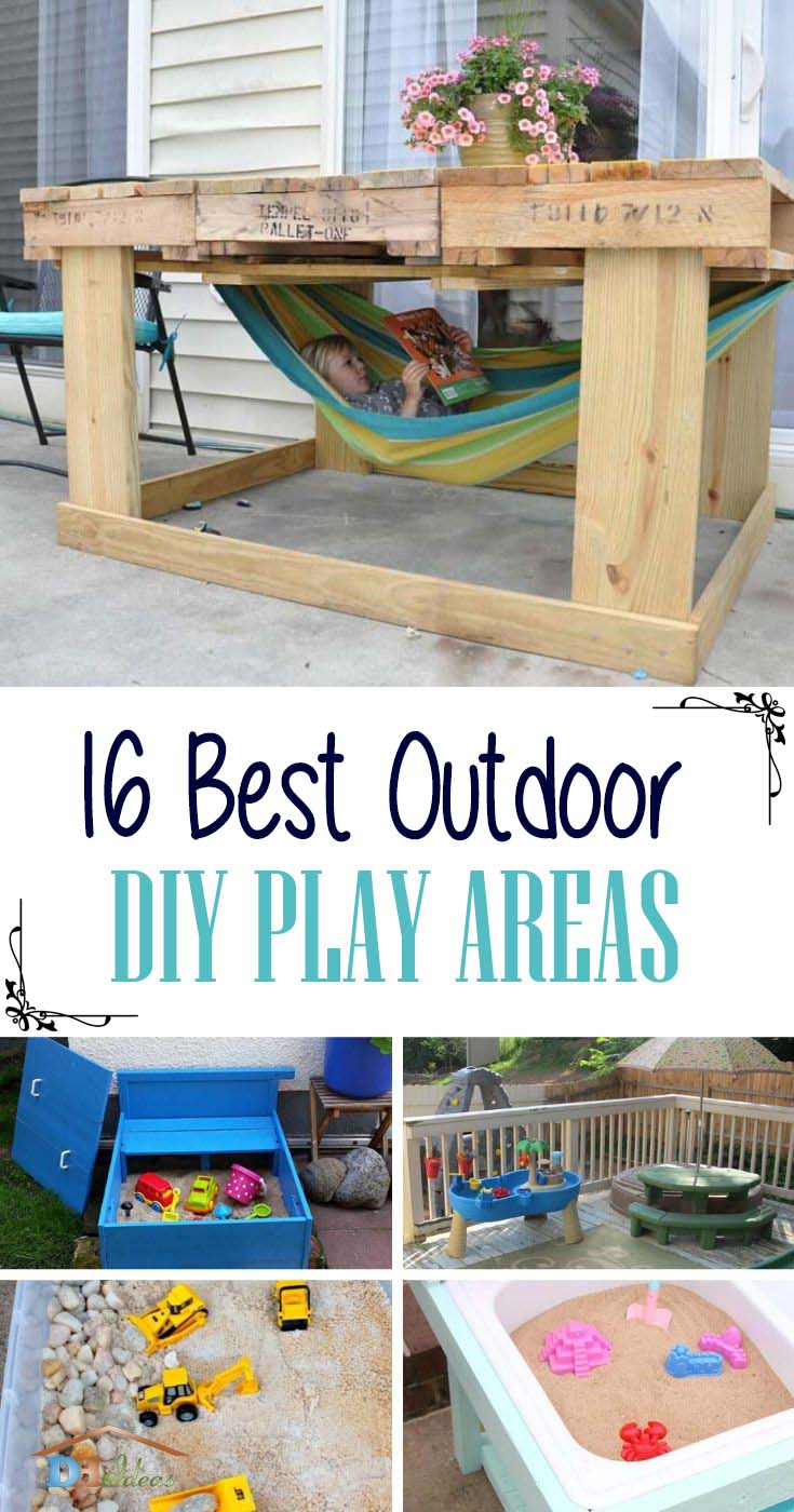 Best DIY Outdoor Play Areas For Kids