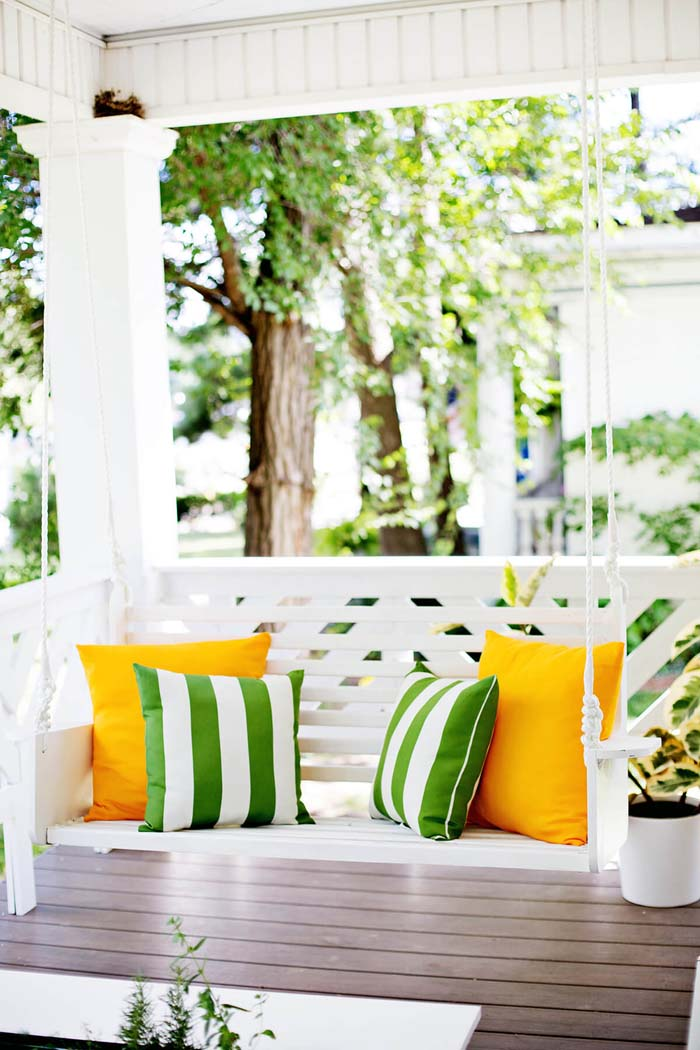 Build Your Own Porch Swing #porch #swing #bed #decorhomeideas