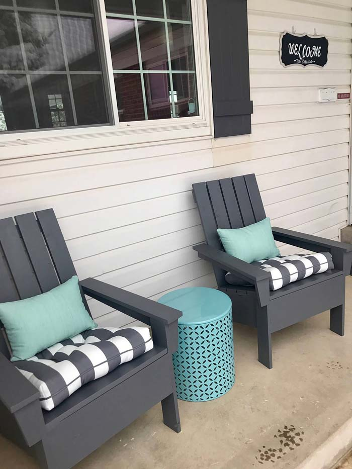 Comfy and Durable Adirondack Chairs #diy #backyard #projects #decorhomeideas