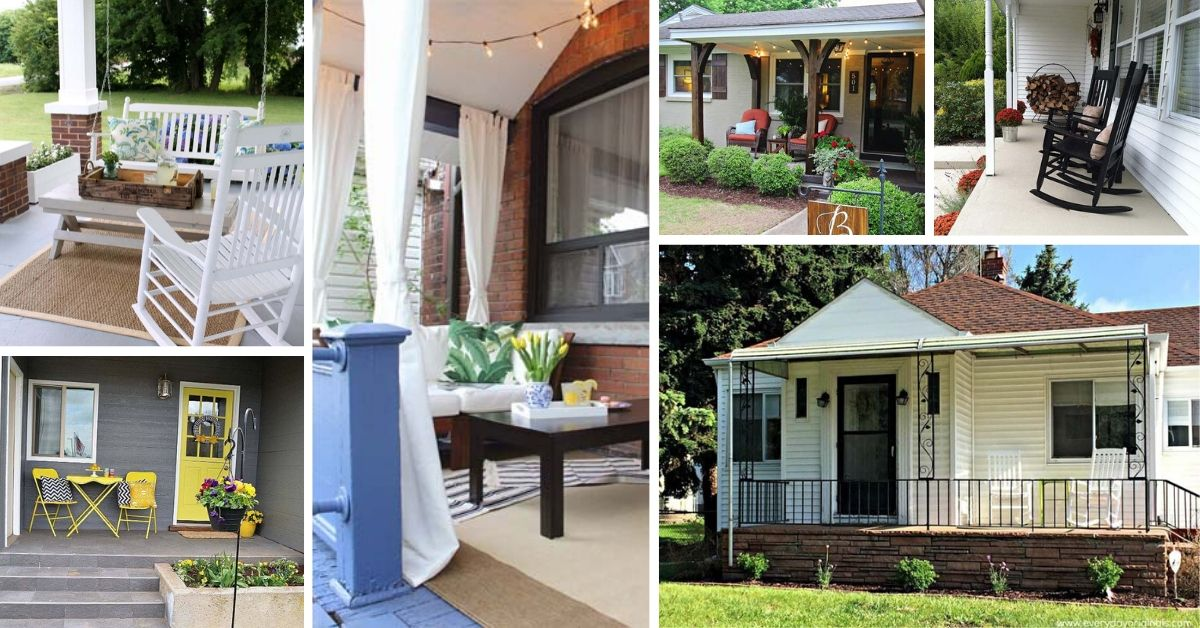 Cool Front Porch Makeover Ideas