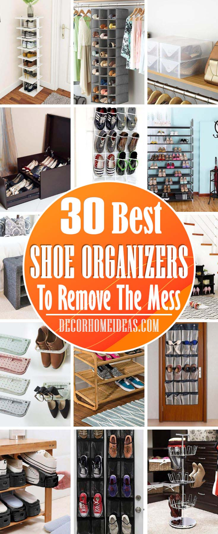 Creative Shoe Organizers. How to organize your shoes in the most convenient way. <a href=