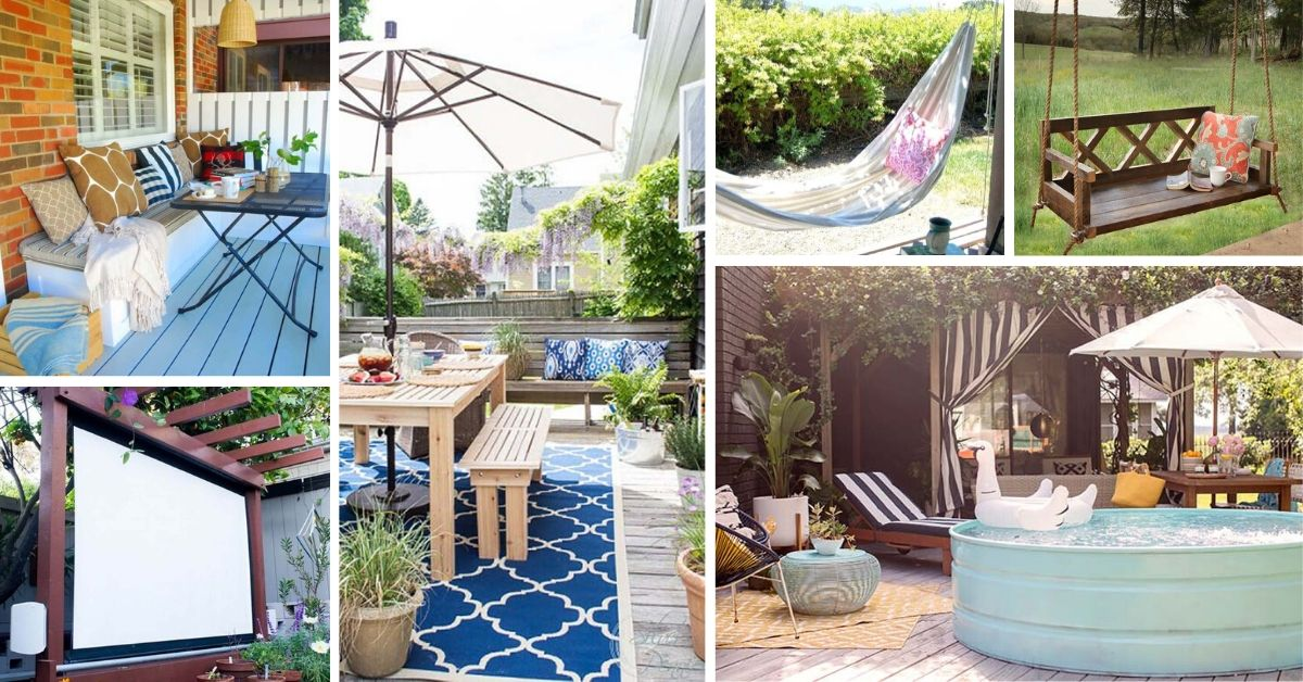 DIY Backyard Relaxation Projects