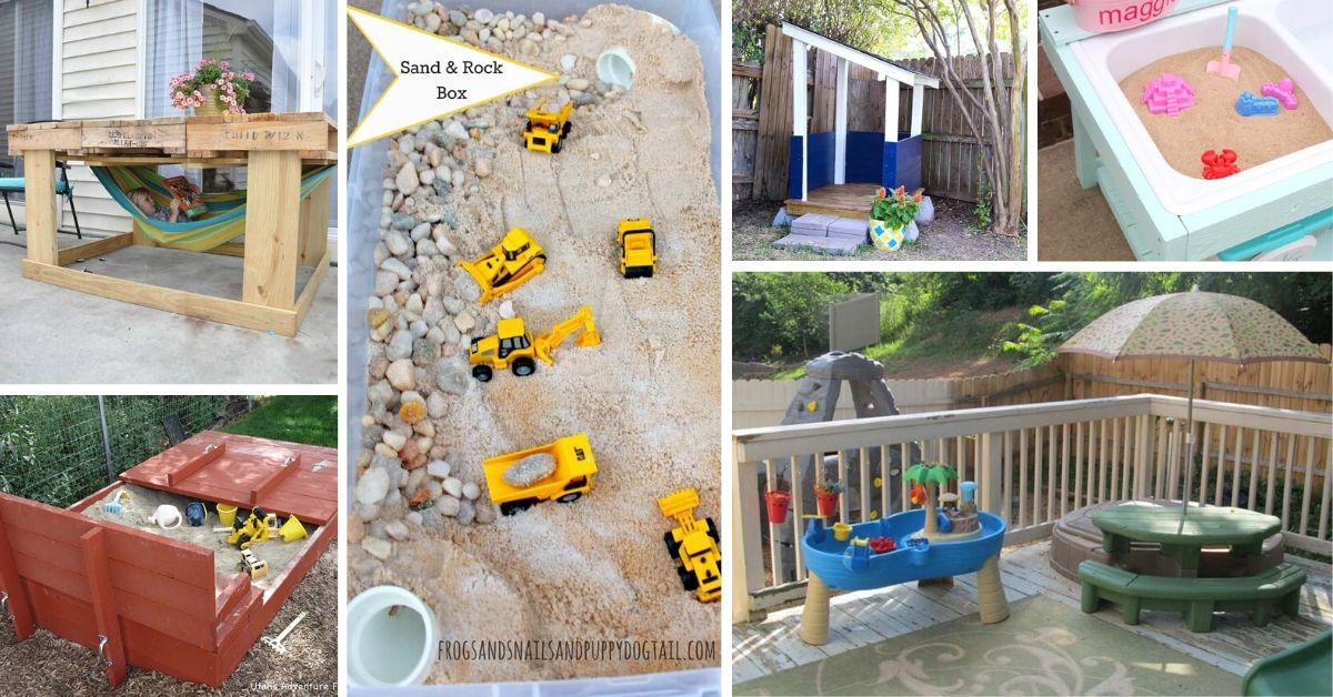 Diy Outdoor Play Areas For Kids