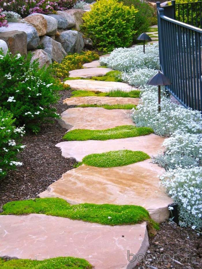 Gorgeous and Sturdy Stepping Stones #steppingstones #garden #backyard #pathway #decorhomeideas