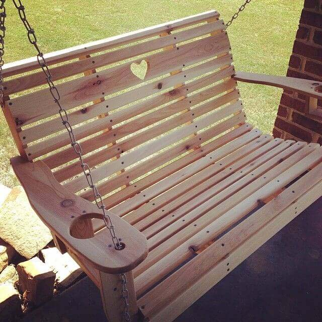 How to Build a Porch Swing #porch #swing #bed #decorhomeideas