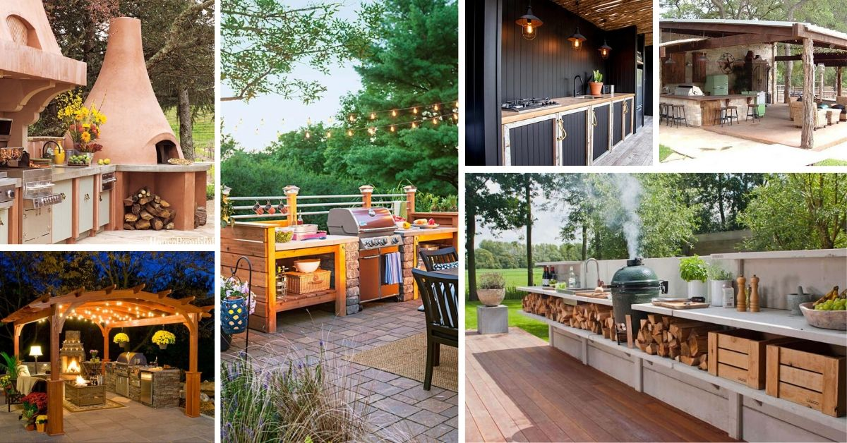 Outdoor Kitchen Ideas And Designs