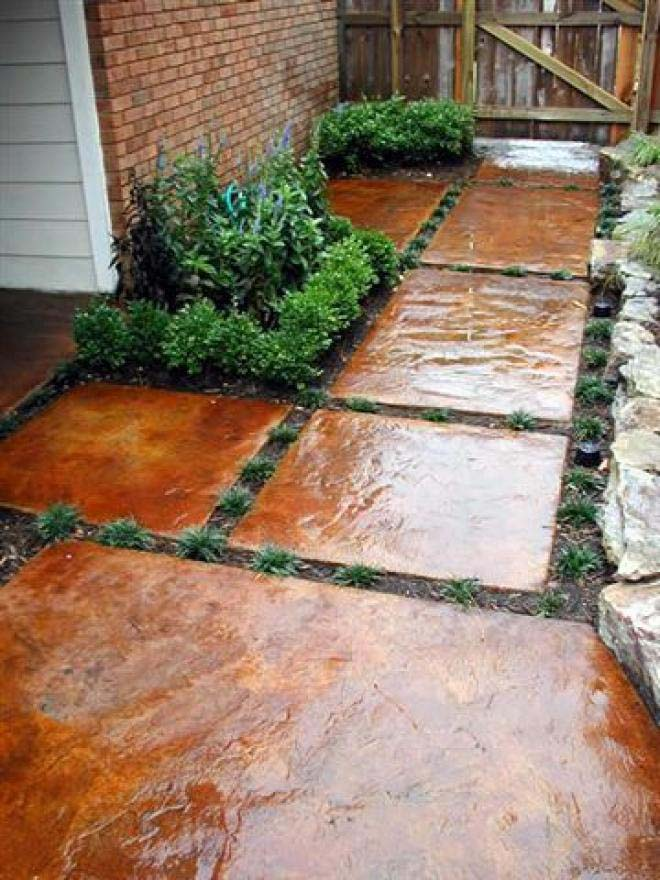 Simple and Stylish #steppingstones #garden #backyard #pathway #decorhomeideas