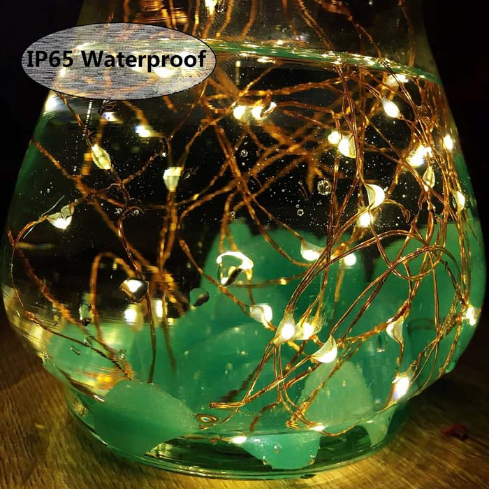 String up Some Solar Fairy Lights #diy #solar #lights #solarlight #garden #decorhomeideas