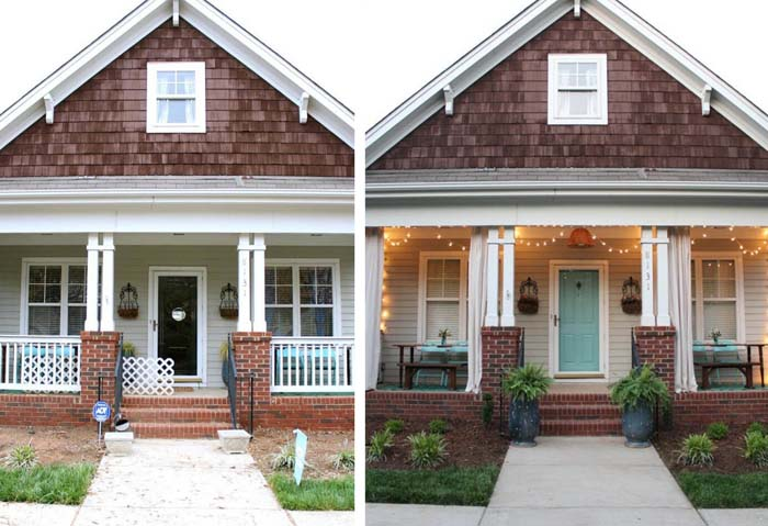 Turn Your Porch into a Party Venue #diy #porch #makeover #decorhomeideas