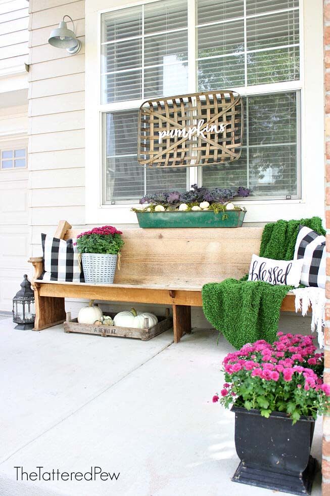 Using Items in Unexpected Places #veranda #decor #rustic #decorhomeideas