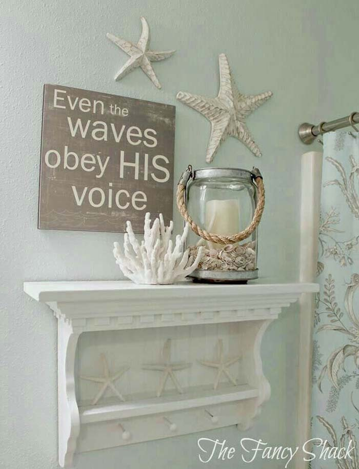 Coral Creations and Shells of the Sea #beach #coastal #decoration #decorhomeideas
