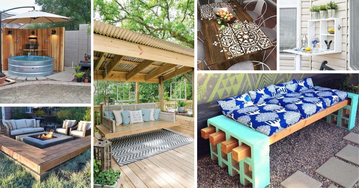 DIY Patio Decorations Ideas