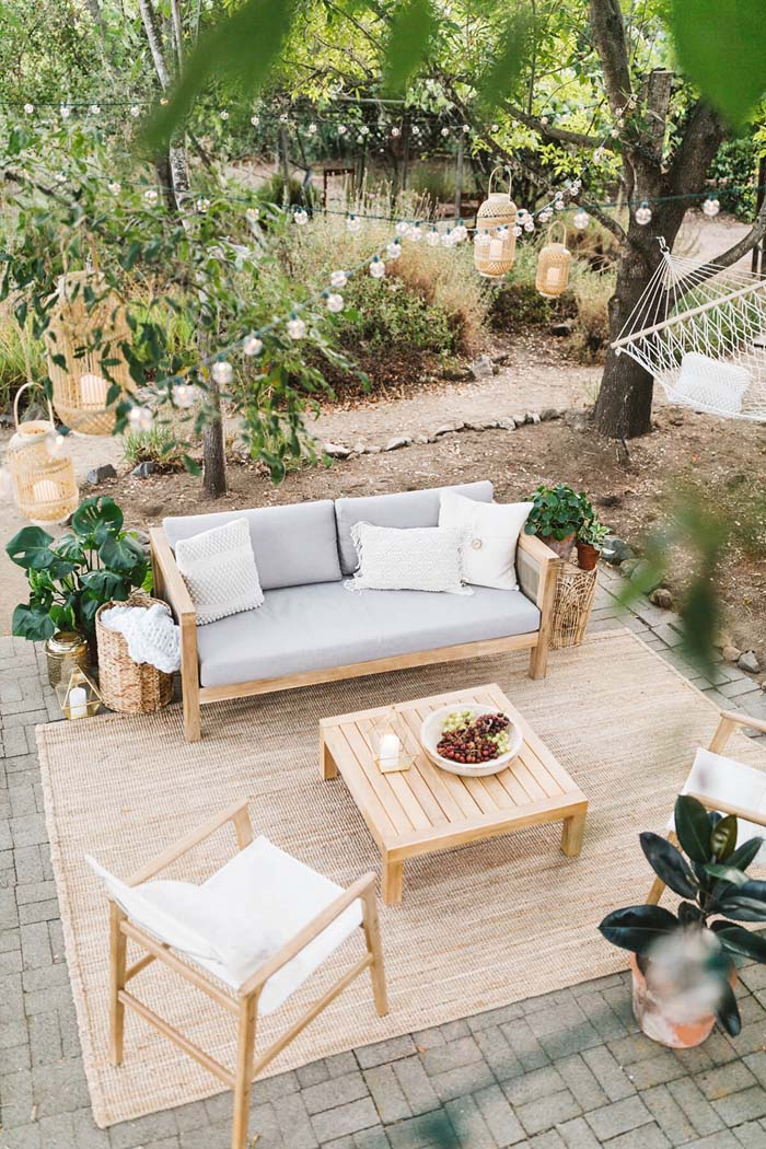Home Decoration for Patio Improvement #backyard #sitting #area #decorhomeideas