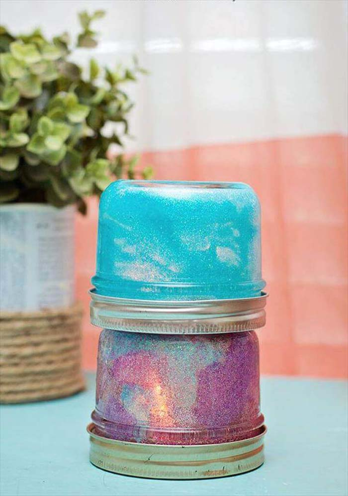 Mason Jar Night Light #diy #masonjar #lights #decorhomeideas