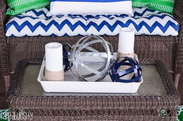 Nautical Candle DIY #diy #patio #decorations #decorhomeideas