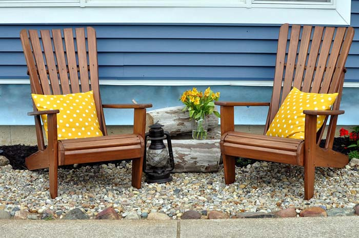 A Pair of Adirondack Chairs #diy #outdoor #furniture #decorhomeideas
