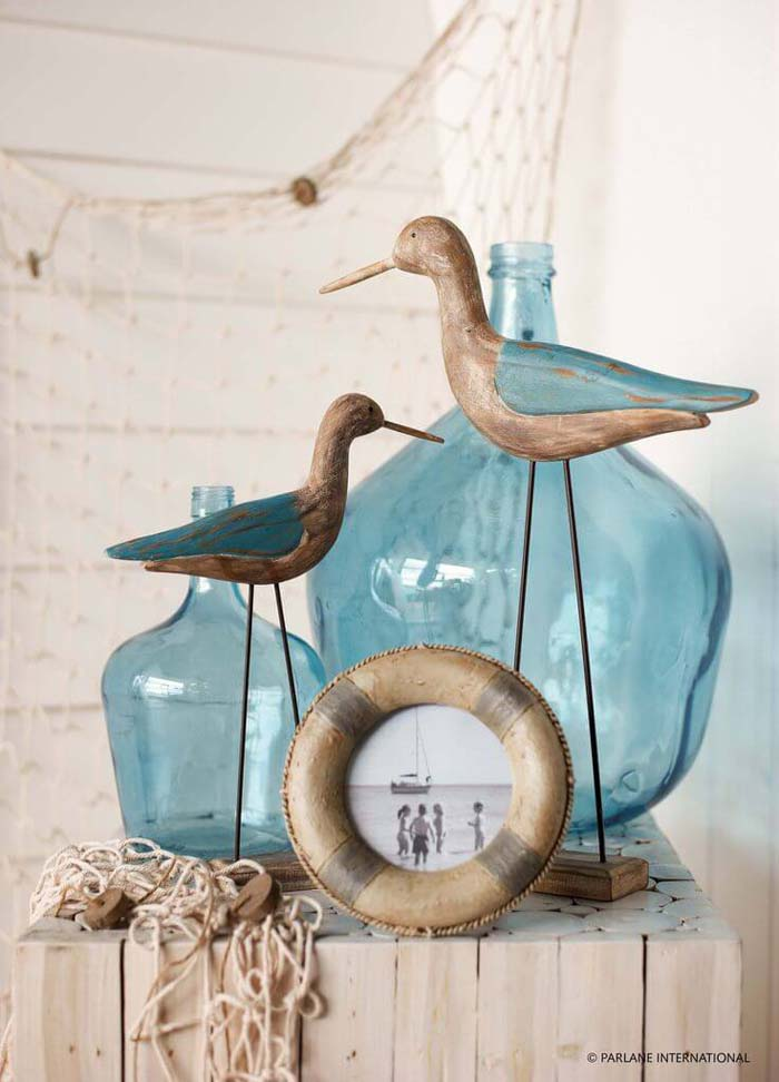 Picturesque Beach Motif for a Coastal Home #beach #coastal #decoration #decorhomeideas