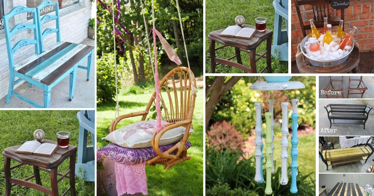 Repurposed Old Chairs Ideas