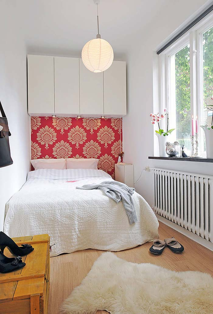 Small Bedroom Ideas with Splashes of Color #bedroom #small #design #decorhomeideas