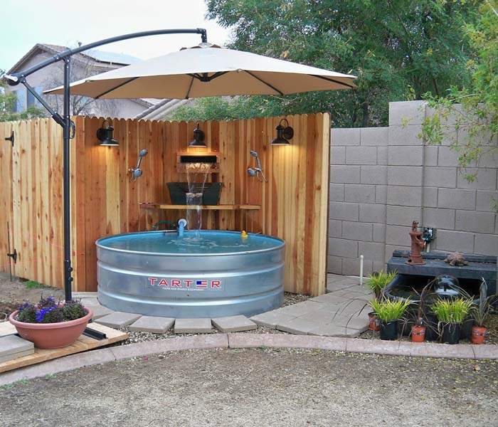 Your Own Private Pool On A Budget #diy #patio #decorations #decorhomeideas