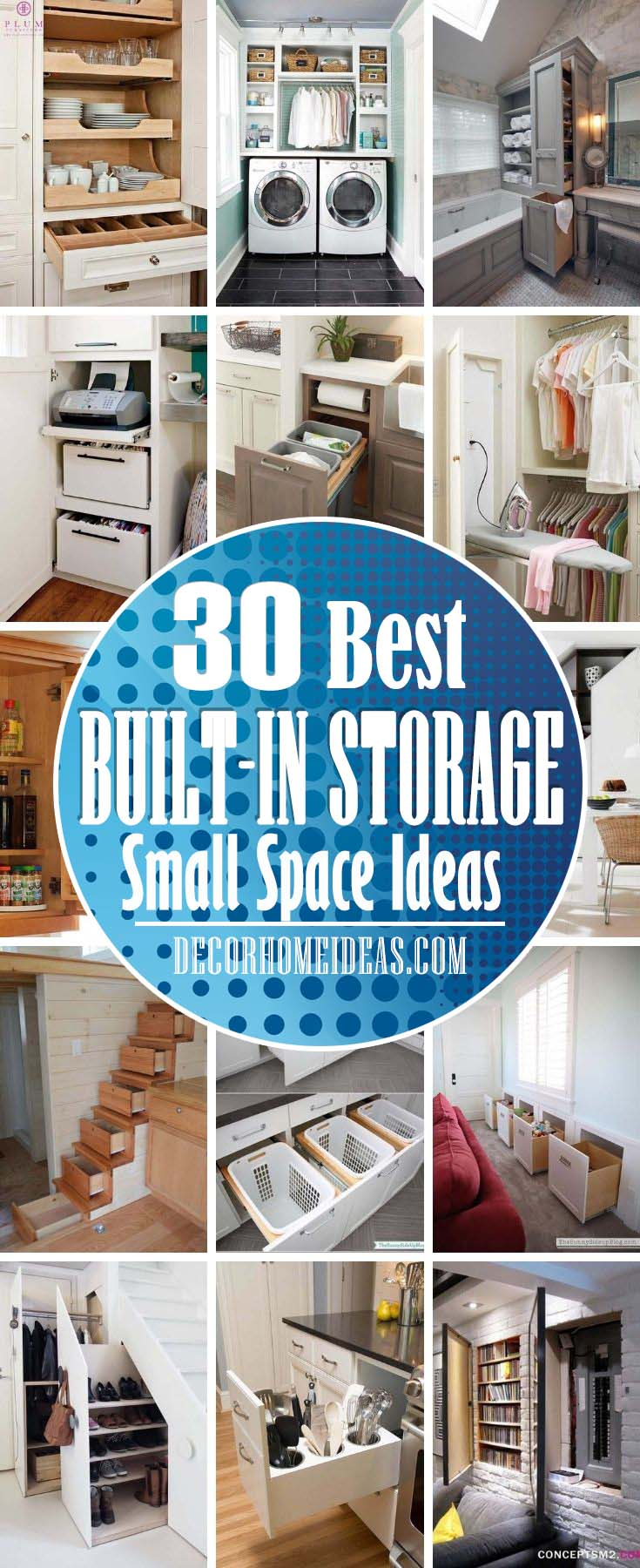 Best Built In Storage Ideas. Built-in storage is the perfect way to hide clutter, offering a much sleeker and tidier solution than free-standing wardrobes or shelving units. From built-in bookshelves in the living room to wardrobes, pantries, and bathroom cupboards.