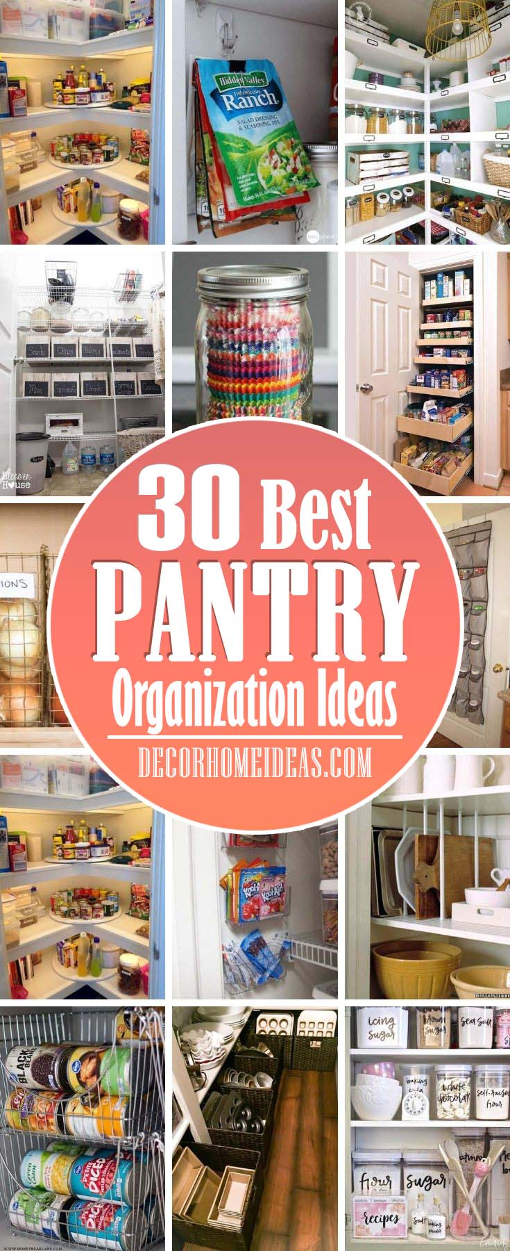 Best Pantry Organization Ideas. These best kitchen pantry <a href=