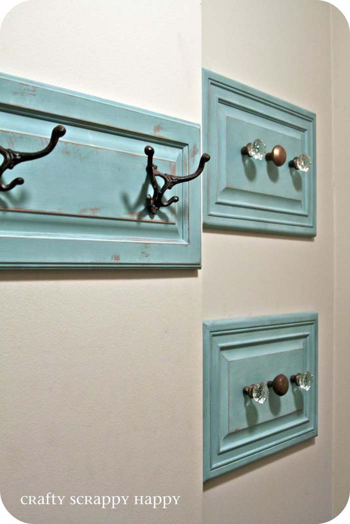 20 Best Repurposed Cabinet Door Ideas That Are Easy To Do Decor Home Ideas
