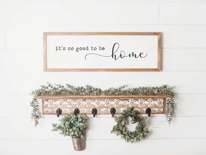 Its So Good To Be Home Sign #farmhouse #sign #decorhomeideas