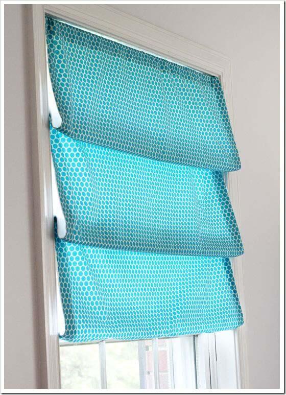 No Sew Window Treatment #diy #window #treatment #decorhomeideas