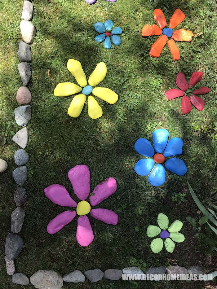 Painted Rocks Garden Decor 15