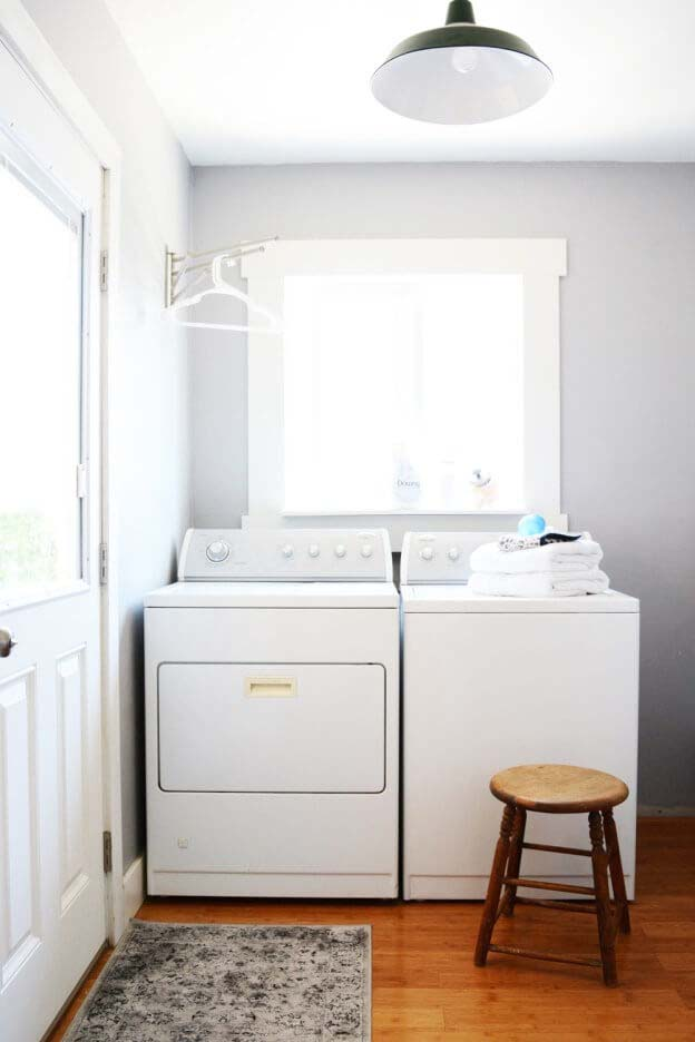 Simple Laundry Room Upgrade Plan #laundry #vintage #decor #decorhomeideas