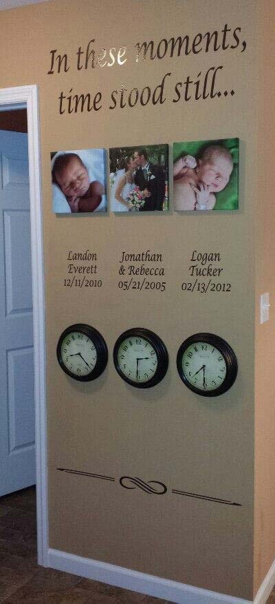 Special Moments Gallery Makes Time Stand Still #wall #gallery #decor #decorhomeideas