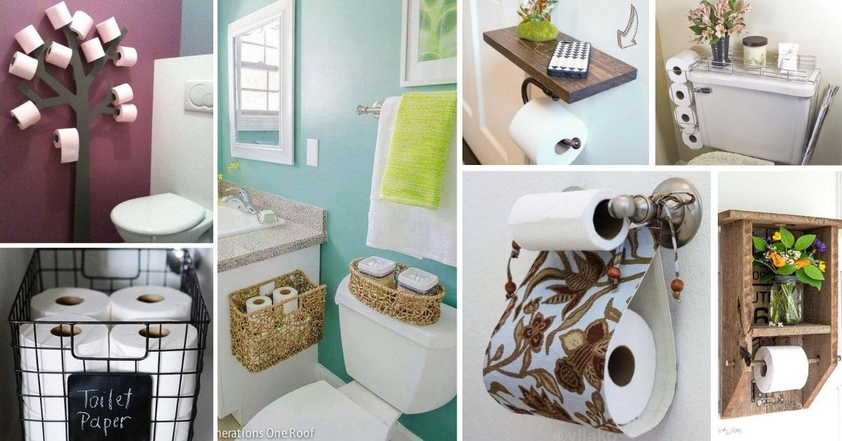 Toilet Paper Holder Ideas Designs 1