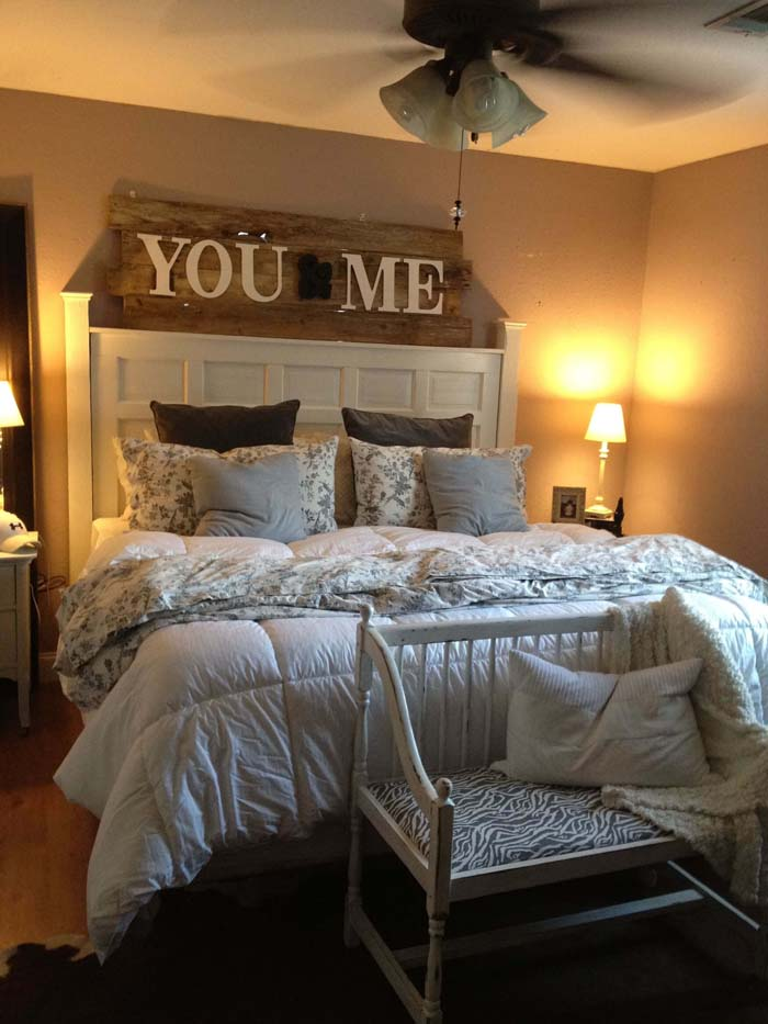 You and Me Vintage Sign #bedroom #wall #decor #decorhomeideas