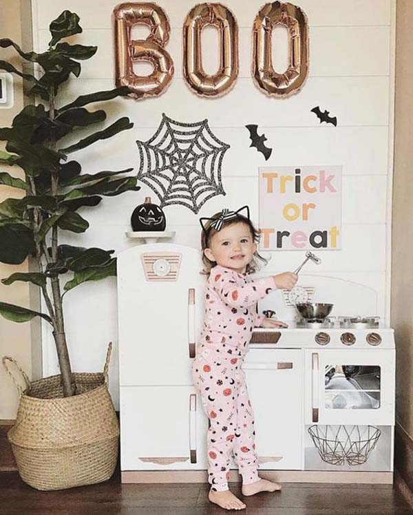 Awesome Halloween Kids Playroom #halloween #kidsroom  #nursery #decorhomeideas