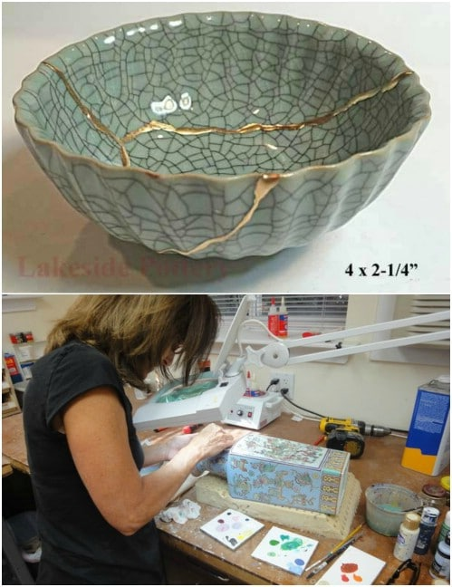China And Porcelain Dish Repair #hacks #restore #houseitems #decorhomeideas