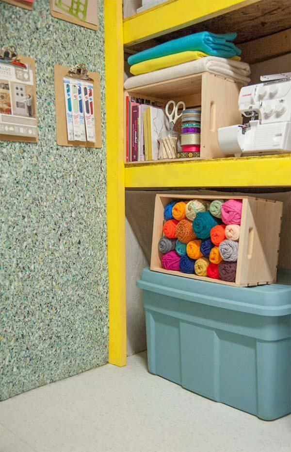 Crafter's Heaven Garage Makeover #garage #organization #declutter #decorhomeideas