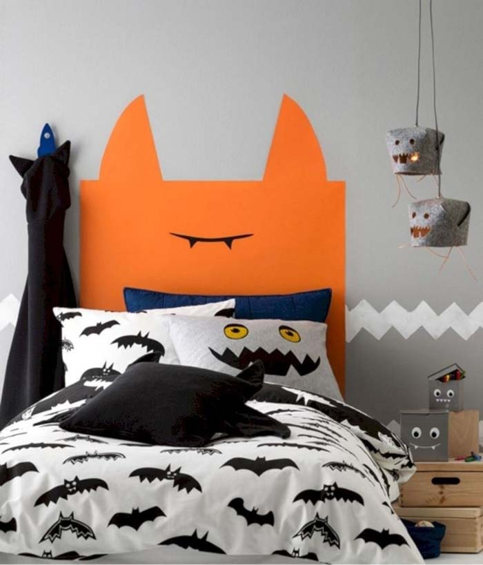 Halloween Kids Bedroom Decor #halloween #kidsroom  #nursery #decorhomeideas