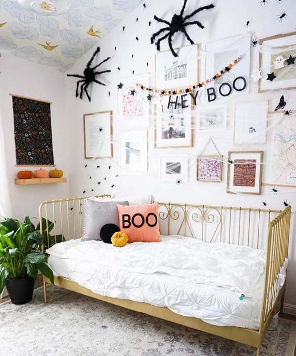 Halloween Nursery Room Decor #halloween #kidsroom  #nursery #decorhomeideas