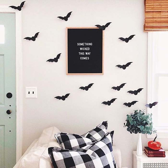 Halloween Wall Decor For Kids Room #halloween #kidsroom  #nursery #decorhomeideas