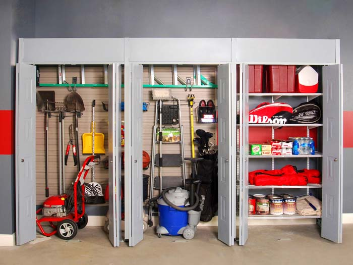 High Efficiency Storage Closet Orientation #garage #organization #declutter #decorhomeideas