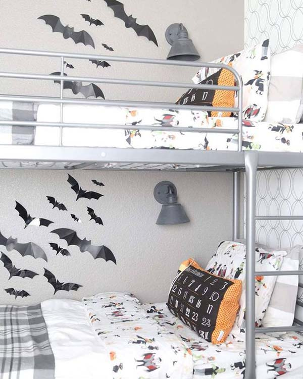 Kids Halloween Bunk Bed Design #halloween #kidsroom  #nursery #decorhomeideas