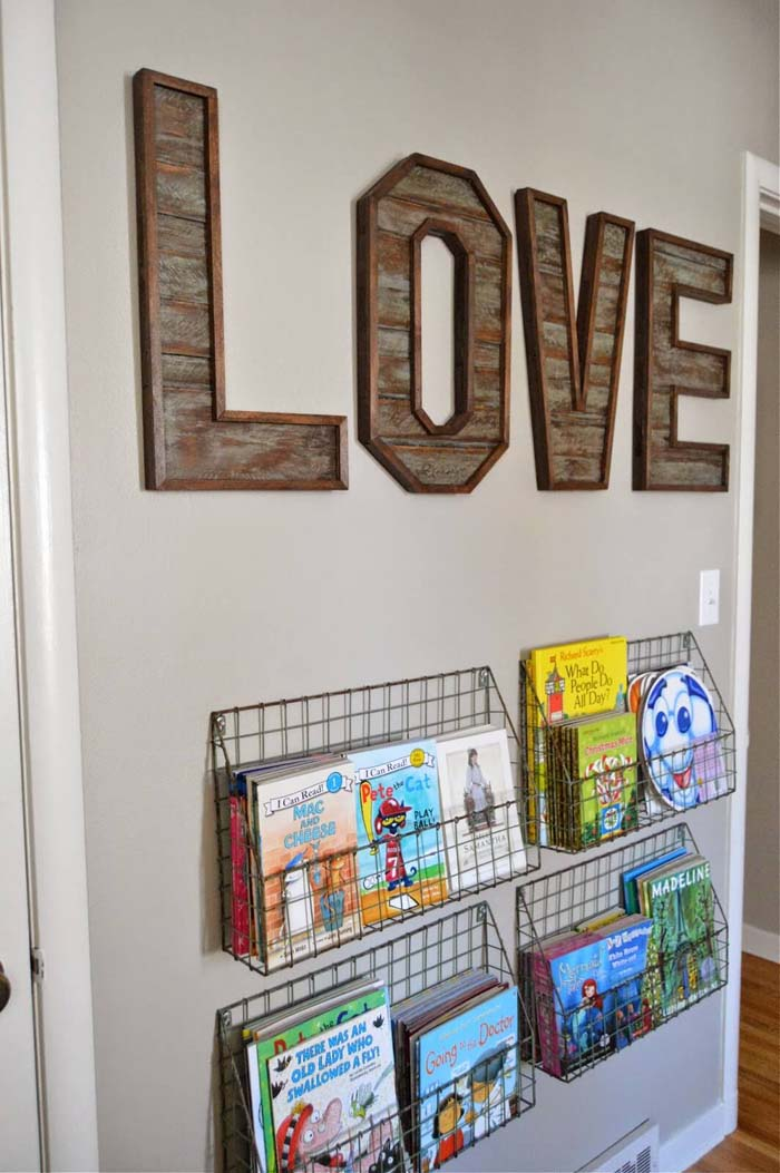 Love Letters Idea #diy #pallet #sign #decorhomeideas