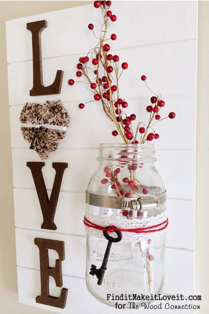 LOVE Slat Sign #diy #pallet #sign #decorhomeideas