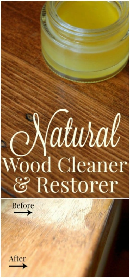 Natural Wood Cleaner And Restorer #hacks #restore #houseitems #decorhomeideas